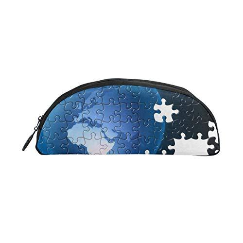 HengZhe Pencil Case Jigsaw Puzzle Pen Bag Cosmetic