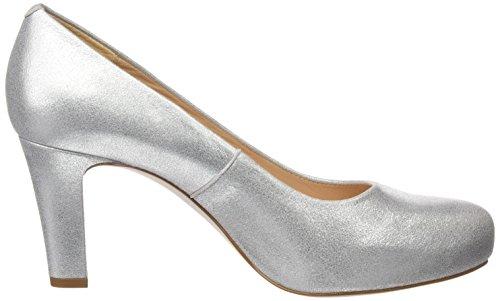 17 Femme Silver Numis MTS Escarpins Unisa Argent 5I4wO