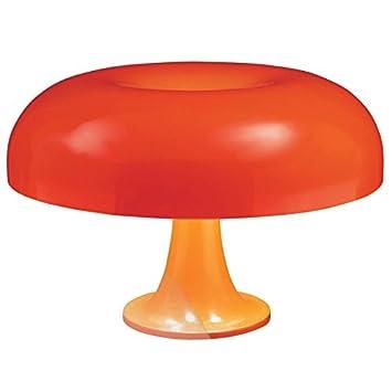 Lámpara de mesa Nesso Artemide - Naranja: Amazon.es ...