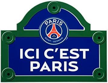 Plaque De Rue Psg Collection Officielle Paris Saint Germain Football Ligue 1 Taille 15 X 20 Cm Amazon De Sport Freizeit