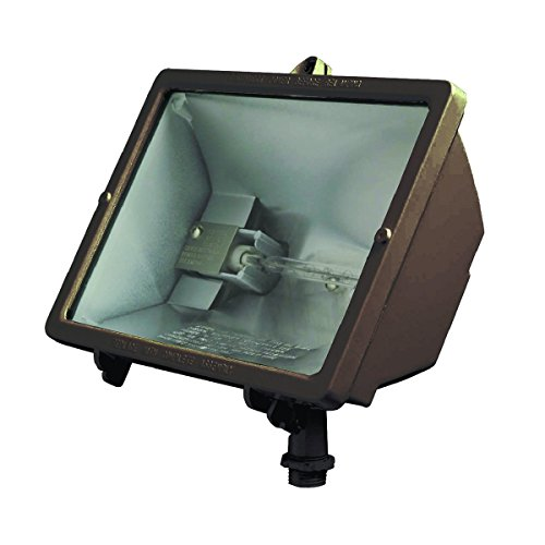 Hubbell Outdoor Lighting Q-500-B Q-Series Quartz Floodlight, Bronze