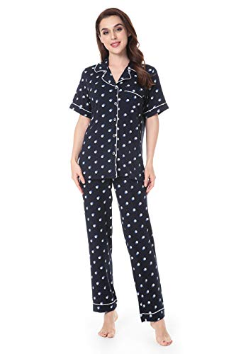 - N NORA TWIPS Pajamas Women's Short Sleeve Sleepwear Soft Pj Set S