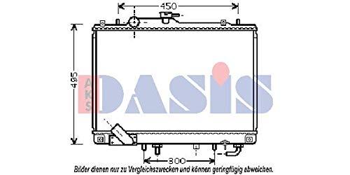 AKS Dasis 140018N Radiator engine cooling