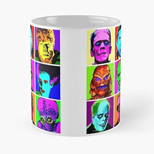 Universal Monsters Andy Warhol Pop Art Frankenstein