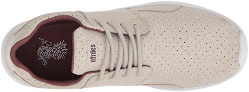 Etnies Womens Scout Xt Sneaker Grigio / Bordeaux