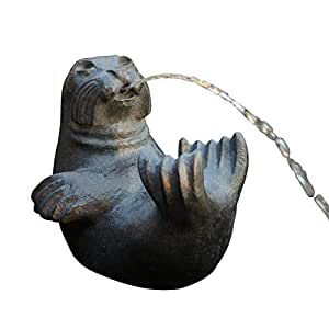 Harbor Seal Fountain Based on Sylvia Shaw Judson Sculpture - Bronze