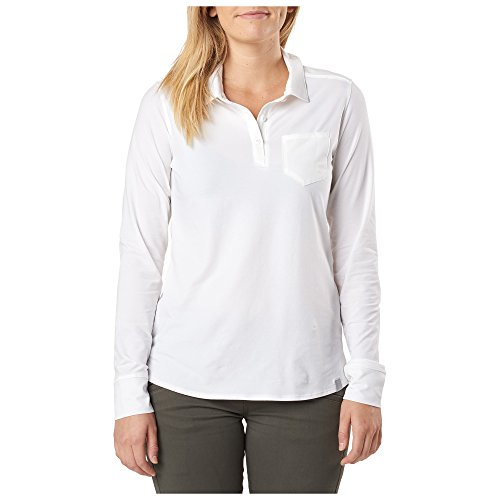 Series blanco Top 5 11 Polo Enyo Tactical manga larga mujer qCHTHzEw