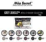 Mia Secret Acrylic Powder - Grey Jungle 6pcs OR