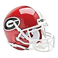 Casco de fútbol Schutt NCAA Mini Authentic XP, Georgia Bulldogs