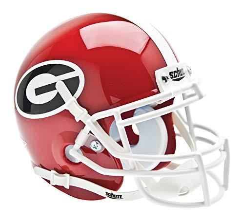 (Schutt NCAA Mini Authentic XP Football Helmet, Georgia Bulldogs)