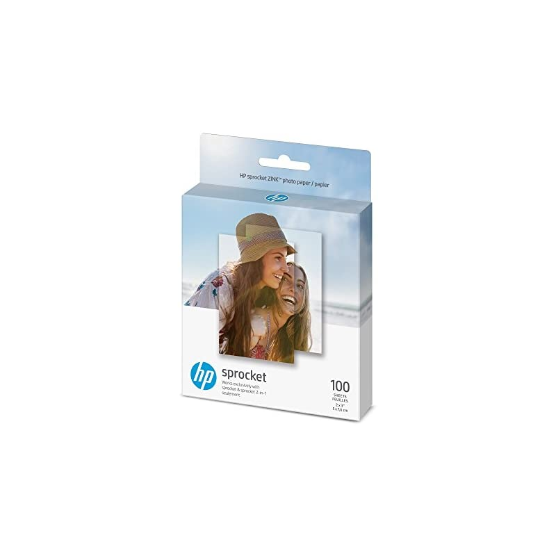 HP Sprocket Photo Paper, exclusively for