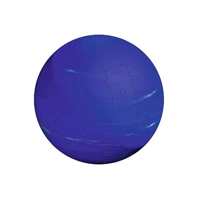 41vmLXm397L toda la calidad ravensburger en un fantástico puzzle 3d del sistema planetario! Las puzzleballs se ensamblan perfectamente sin adhesivo, pieza por pieza! Descubre los ocho planetas de nuestro sistema planetario con el puzzle 3d de ravensburger