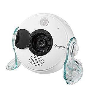 I-O DATA ネットワークカメラ スマホ ペット 子供 見守り フルHD/人感・温湿度センサー/microSD録画 TS-WRLP