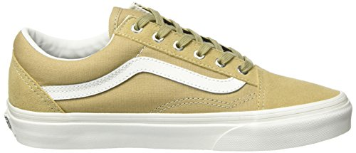 Snake Canvas Classic Adults' Skool Sneakers Suede Vans Old Unisex Beige Y6SxwqP