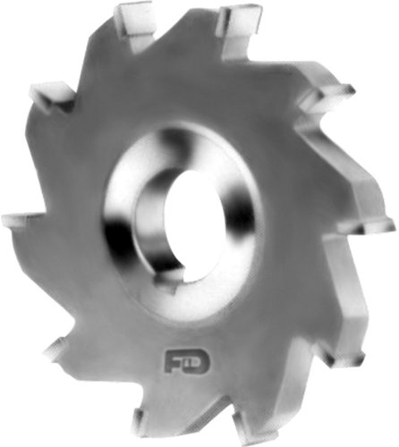 F&D Tool Company 14061J Carbide Tipped Slitting Saw - Standard Tooth, Steel - Arbor Hole: 1-1/4'' - Diameter: 6'' - Width of Face: 5/64'' - Number of Teeth: 18 by F&D Tool Company