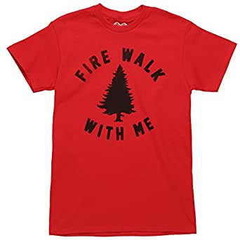 Twin Peaks Fire Walk With Me Adult T-shirt (XXX-Large, Red)
