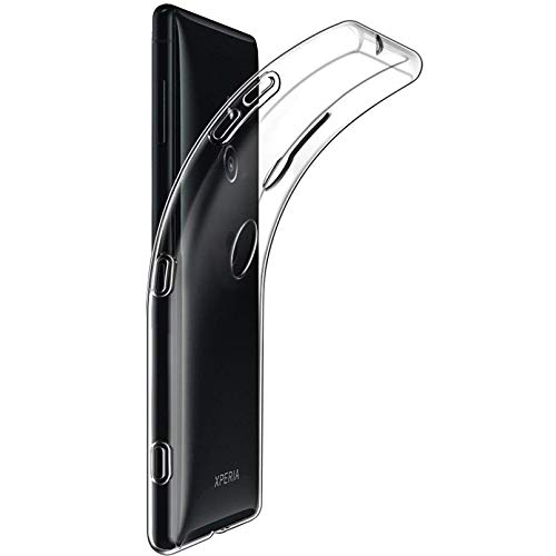 Tektide Case for Sony Xperia XZ3, [Invisible Armor] Xtreme Slim, Clear, Soft, Drop Protection TPU Rubber Bumper Case/Back Cover
