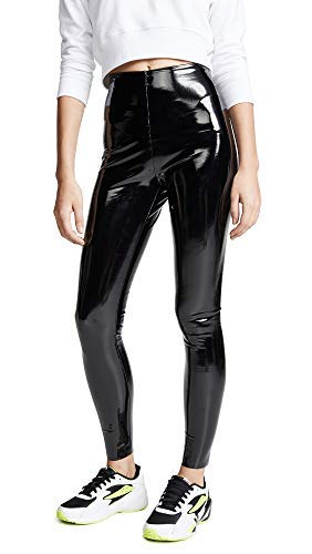 x Patent Leather Perfect Control Leggings, Black, Small ()