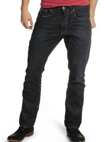 G-STAR RAW Herren Attacc Straight Jeans Indigo