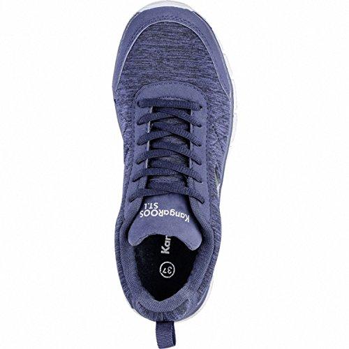 Sneaker KangaROOS Basse Ref Run Blue Blau KR Navy Donna K Dk 4rSFrtnOw