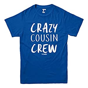 Crazy Cousin Crew – Cute Funny Youth T-Shirt