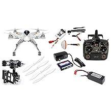 Walkera QR X350 PRO RTF GoPro Drone w/ G-2D Gimbal & Devo F7 LCD Transmitter - FPV TX5803 but *No Camera*