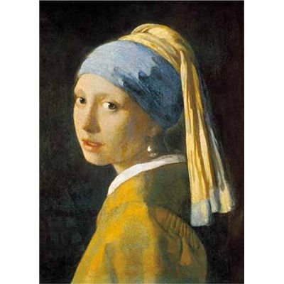 Ricordi The Girl with a Pearl Earring 1000 Piece Johannes Vermeer Jigsaw Puzzle