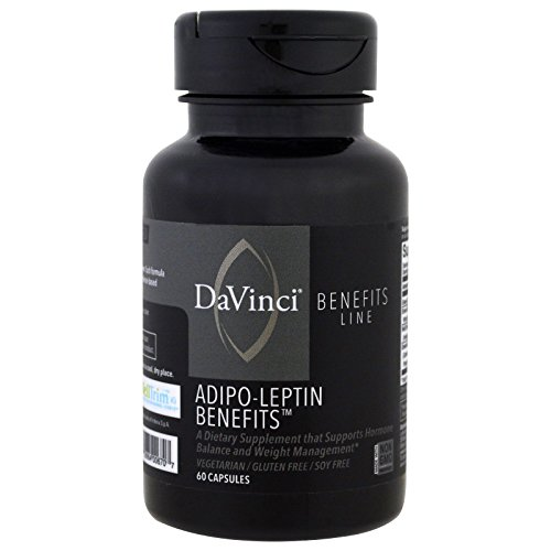 Adipo-Leptin Benefits – 60 Vegetarian Capsules by DaVinci Labs