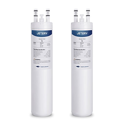 2 Pack Frigidaire ULTRAWF Refrigerator Water Filter, JETERY Fridge  Replacement Compatible With KENNMORE 469999 242017800 242017801 PS2364646