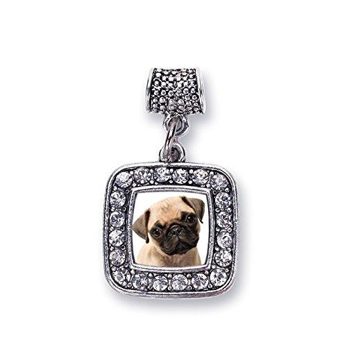 pandora charms pug dog