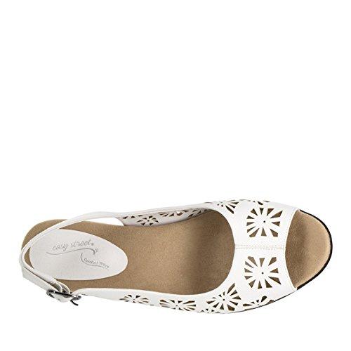 Sandalo Bianco Abito Da Donna Easy Street Kaley