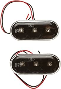 Dectane SV04ALB - Intermitente lateral LED para Volkswagen, Seat, Skoda y Ford, color negro