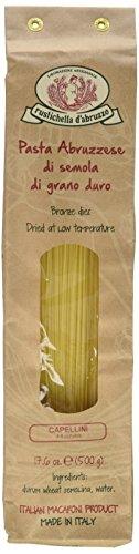 Rustichella Dabruzzo Wheat Spaghetti - Rustichella d'Abruzzo Capellini, 500g