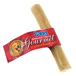 """low-cost Cadet 5"""" Pressed Rawhide Sticks, 25 Count"""