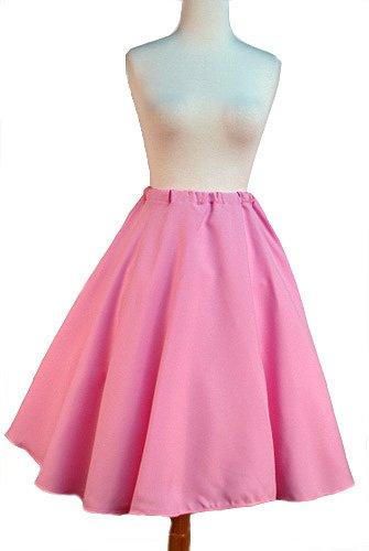 50s Full Circle Skirt in Vibrant Colors for Sock Hop Swing Dance by Hey Viv !