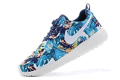 De Pour Chaussures Fleurs Course Version Nike Femmeusa Run Rosh GVSUzqMp