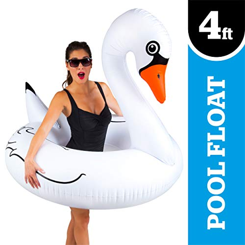 BigMouth Inc. Giant White Swan Pool Float