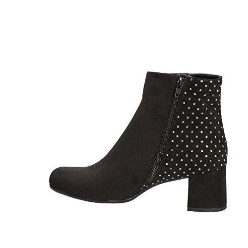 Ankle GRACE Women Black Boots 8630 SHOES qOOx1vHT