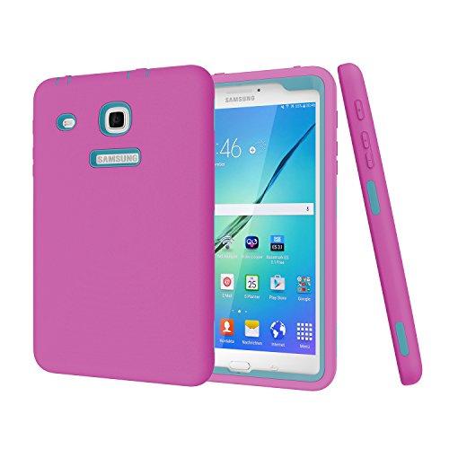 Samsung Galaxy Tab E 8.0 Case,Darmor [Heavy Duty] [hybrid] PC+Silicon Hybrid Protective Three Layer Armor Defender Full Body Protective Case For Tab E 32GB SM-T378/Tab E 8.0 SM-T375/T377