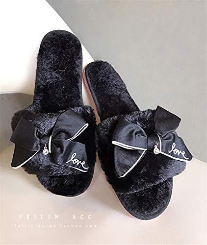 Zapatos Felpa Antideslizantes Algodón 7 De Interior Flip E Casa Zapatillas Invierno Mujer Otoño Lhxyx g8BvwxE