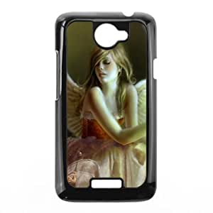 Fantasy Angel HTC One X Cell Phone Case Black F7643057