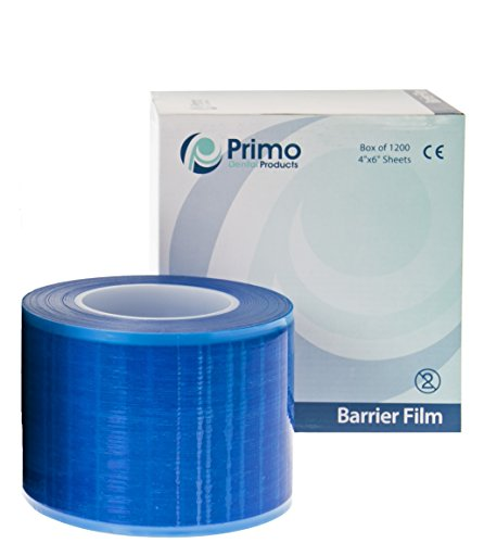 Primo Dental Products BF200B Barrier Film Roll, 4