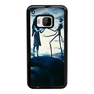 HTC One M9 Cell Phone Case Black Nightmare Before Christmas YT3RN2567780