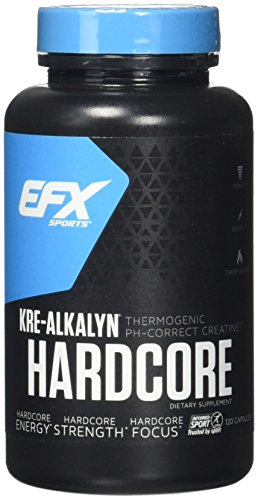 EFX Sports Kre-Alkalyn Hardcore 120 Capsules (All American Kre Alkalyn)