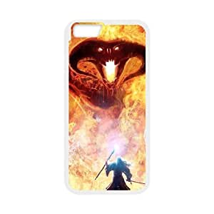 Beast On Fire iPhone 6 4.7 Inch Case White Cell Phone Case Cover NKZHIQQ0050