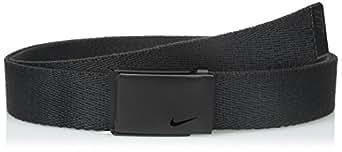 Nike Women's Tech Essentials Single Web Belt, Black, One Size