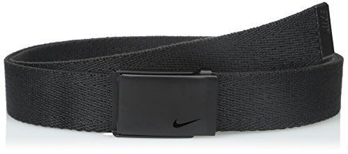 Nike Golf Belt (Nike Women's Tech Essentials Single Web Belt, Black, One Size)