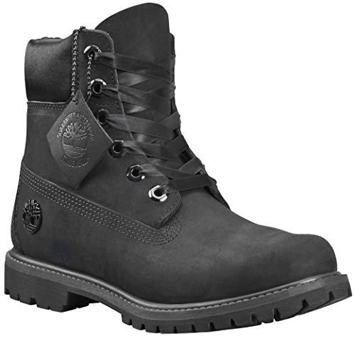 """Timberland Women's 6"""" Premium Waterproof Boot Black Nubuck 7 B US from Timberland"""