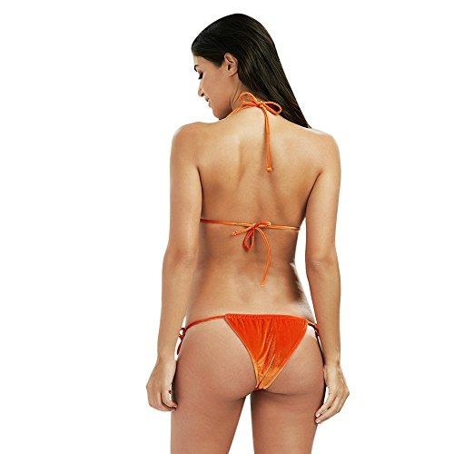 DressLily - Conjunto - Noche - para mujer Orange Red