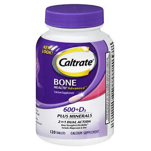 - Caltrate Bone Health Advanced 2in1 Dual Action Minerals, 120 Tablets